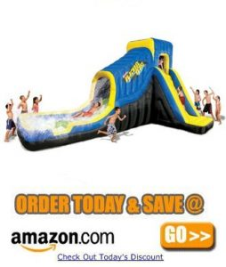Banzai Black Out Blast Slide Amazon
