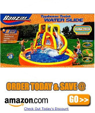 Banzai Typhoon Twist Water Slide order