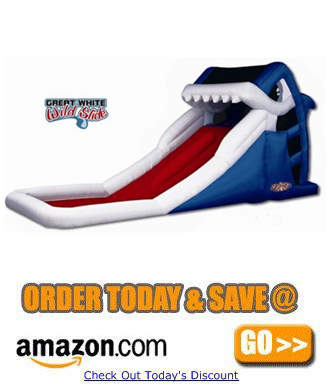 Blast Zone Great White Water Slide by Blast Zone a