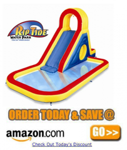 Blast Zone Rip Tide inflatable Water Park by Blast Zone a