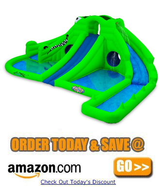 Blast Zone Ultra Croc Huge Inflatable Water Park1