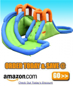 Bounceland Island Water Park Water Slide amazon