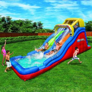 Banzai Double Drop Raceway Lane Water Slide