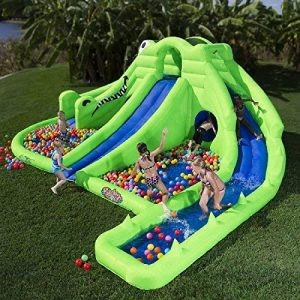 Blast Zone Ultra Croc Huge Inflatable Water Park 1