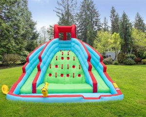 Deluxe Inflatable Water Slide