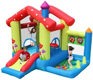 Durable Inflatable Bouncy Water Slide