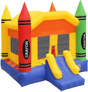 Inflatable HQ Commercial Grade Crayon Bounce House
