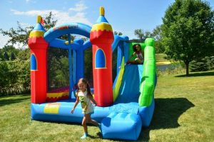 Royal Palace Inflatable Bounce House Bouncer