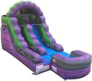 TentandTable Purple Royal Marble Inflatable Water Slide