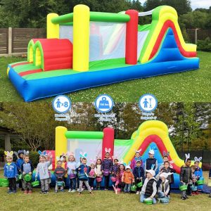 YARD Inflatable Obstacle Bounce House